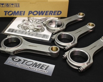 Tomei - Forged H-Beam Connecting Rods