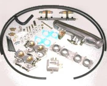 Ikeya Formula - 4 Throttle Chamber & Surge Tank