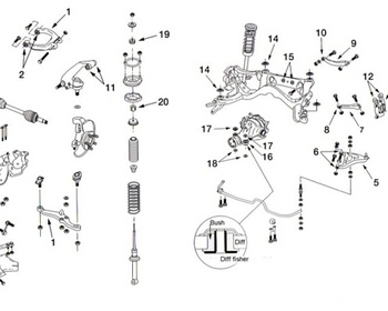 Nismo - Suspension Link & Bush Parts - GT-R - BNR34