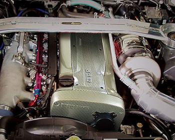 HKS Kansai - Carbon Kevlar Engine Cover