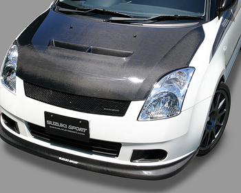 Monster - Air Outlet Carbon Hood - Swift