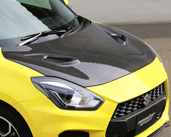 Monster Sport - Air Outlet Carbon Hood