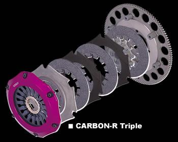 Exedy - Hyper Carbon - Carbon-R - Triple Plate Clutch