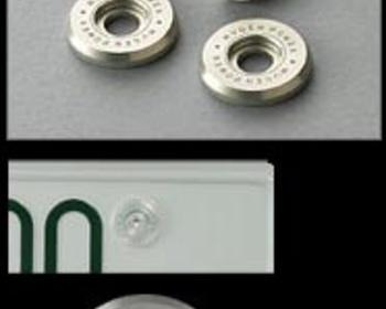 Mugen - Number Plate Bolts