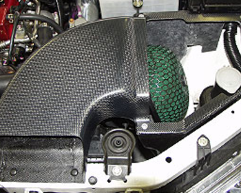 Kansai Service - Carbon Fiber Air Box Kit