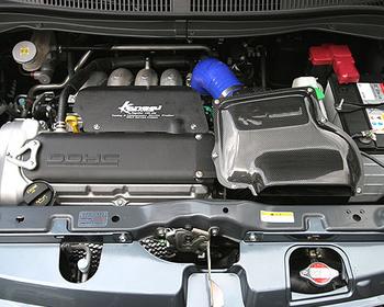 HKS Kansai - Carbon Fiber Air Box Kit
