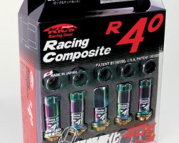 Kics - Racing Composite R40 - Wheel Nuts - Titanium Coated