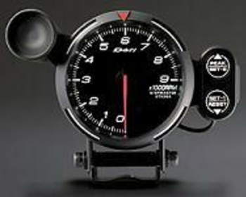 DF07401 0-9000 RPM White