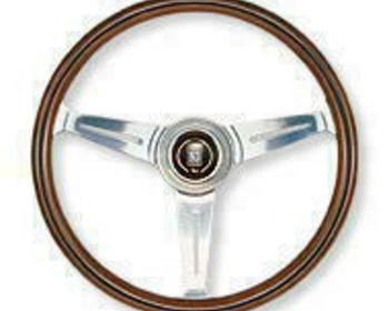 Nardi - Classic Wood Steering Wheel