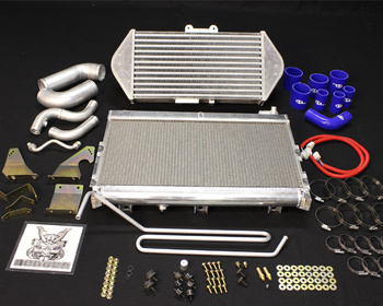 RE Amemiya - V-Mount Intercooler & Radiator