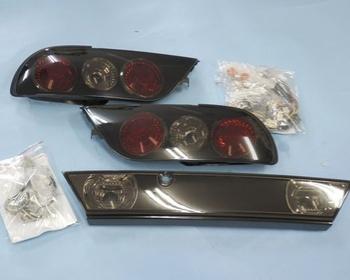 Uras - Tail Lights - 180SX Smoked