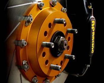 M and M Honda - AP Racing Brake Caliper System