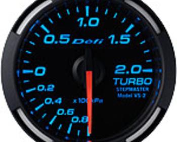 Defi - Racer Gauge - Blue - Boost