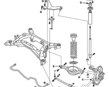 Suspension Link & Bush Parts - 350Z/V35