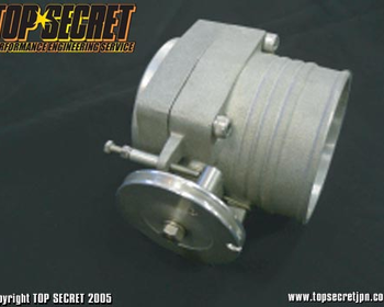 Top Secret - Throttle Body - Aluminium