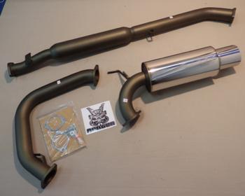 31006-AM004 - Mitsubishi - Evo 4-6 - CN9A/CP9A - 4G63 - 2 Piece - Pipe 75mm - Tail 120mm