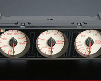 Ralliart - Sports DIN Triple Meter Kit