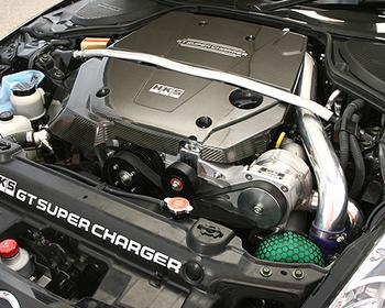 HKS - GT Supercharger - Engine Cover