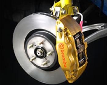 STI - Brembo Brake Kit - Front