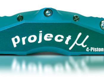 Project Mu - Racing Caliper - 4Pistons for 4Pads