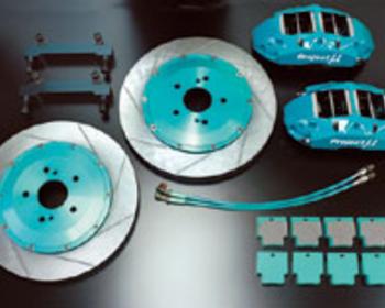 Project Mu - Forged Sports - 4 Pistons x 4 Pads