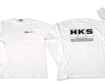 HKS - Long Sleeve T-Shirt 801 - White