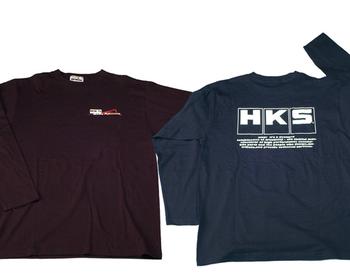 HKS - Long Sleeve T-Shirt 801 - Black