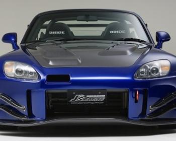 J's Racing - S2000 Front bumper TYPE - S 2.0 CFRP