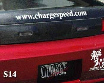 ChargeSpeed - Carbon Garnish