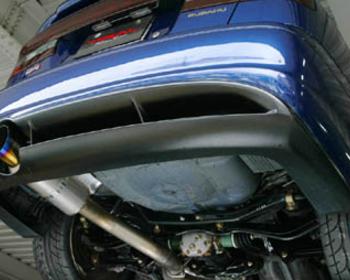 Trial - Titanium Muffler - Subaru Liberty