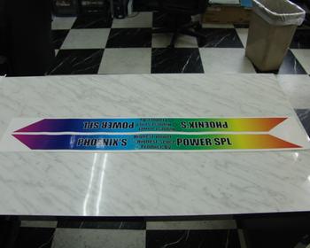Phoenix Power - Rainbow Sticker
