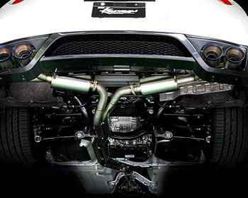 HKS Kansai - R Titan Dual Exhaust Muffler