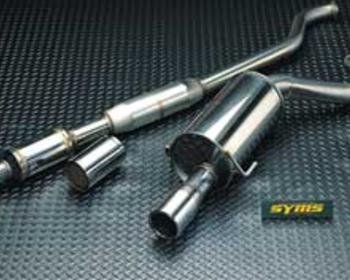 Syms - Center Pipe + Rear Silencer