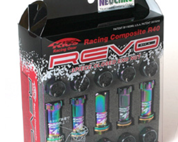 Kics - Racing Composite R40 REVO - Neon/Chrome