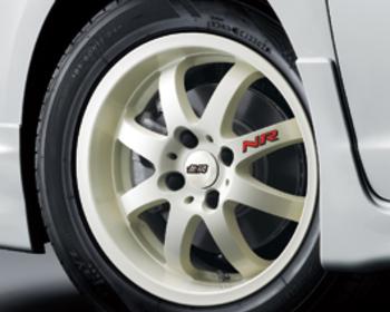 Mugen - Aluminum Wheel NR - Racing White