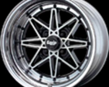 Work Wheels - Equip 03 - Black Cut Clear