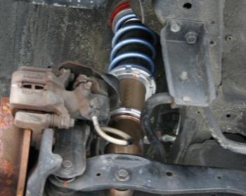 J's Racing - SPL Crux Coilover Suspension - EF8
