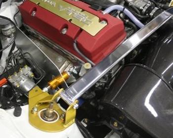 J's Racing - Tower Bar + Engine Torque Damper - S2000