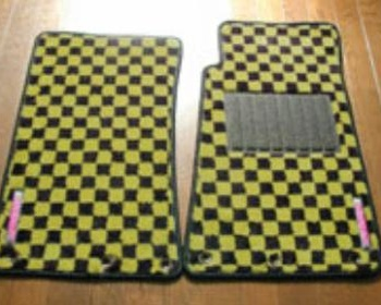 Tucking 99 floor mats Yellow/Black