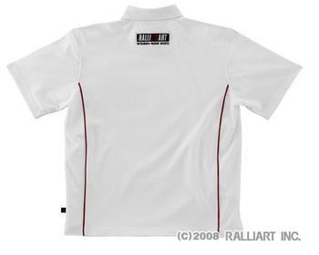 Ralliart - Dry Polo Shirt - White