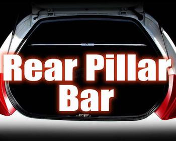 M and M Honda - Rear Pillar Bar