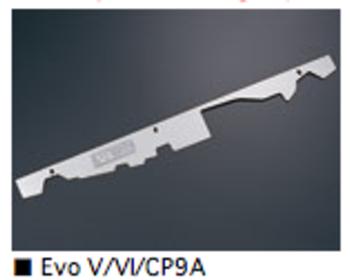 ARC - Radiator Hood Panel - Stainless Steel - Mitsubishi Evo