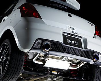 MCR - Crimson Exhaust Muffler - Suzuki Swift