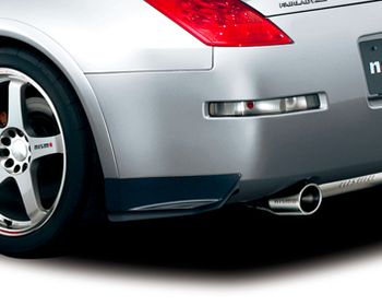 Nismo - Rear Under Spoiler Set - 350Z