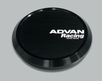 Yokohama Wheel Design - Advan Racing - Center Cap - Black - Flat
