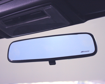 Spoon - Blue Wide Rear View Mirror - S2000