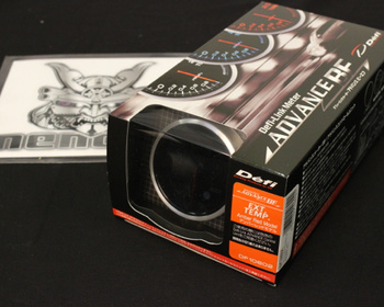 DF10602 - Exhaust Temp - Amber Red - 60mm