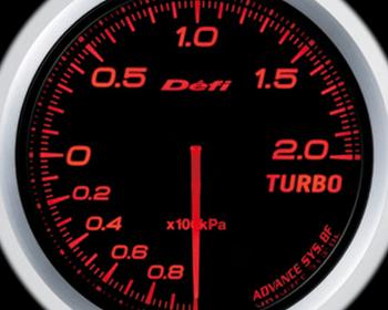 Defi Link Meter - ADVANCE BF - Turbo - 200kPa - Amber Red