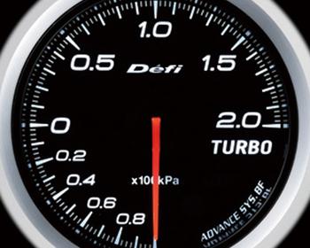 Defi Link Meter - ADVANCE BF - Turbo - 200kPa - White