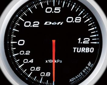 Defi Link Meter - ADVANCE BF - Turbo - 120kPa - White